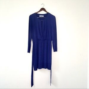 Trina Turk Stretch Long Sleeve Dress